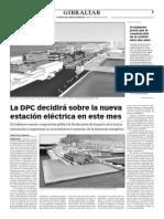 150818 La Verdad CG- La DPC Decidirá Sobre La Nueva Estación Eléctrica en Este Mes p.7