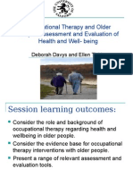 Occupational Therapy and Older People Powerpoint Elle Updated 6-5-10