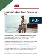 La Sentida Carta de Carlos Pizarro a Su Hija