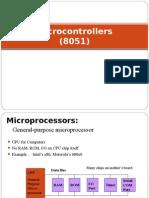 Micro Controllers8051
