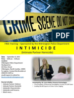 Intimicide Training