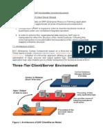 Fundamentals of SAP Client Server Module