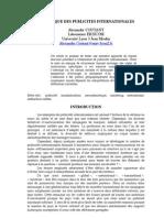 Semiotique Des Publicites Inter Nation Ales