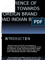 Preference of Youth Towards Foreign Brand and Indian