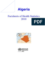 Algeria Statistical Factsheet