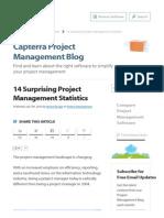 14 Surprising Project Management Statistics - Capterra Blog
