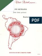Radames Gnatalli - Suite Retratos (2 Git)