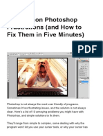 How to Geek - 10 Common Photoshop Frustrations (and How to Fix Them in Five Minutes)