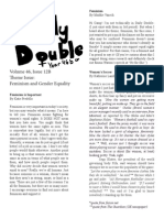 Daily Double, Volume 46, Issue 12B