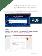 Menggunakan Lembaran Kerja Google Drive Dalam P&P