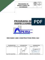 Programa de Inspecciones