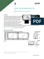 SMART Board® 8084i-G4 Interactive Flat