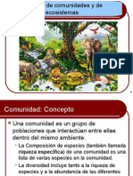 8ecologia de Comunidades y Ecosistemas