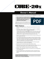 Line 6 Spider II 15 & 30 User Manual | Sound Technology