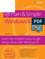 Windows 8 Plain Simple