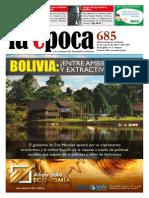 Nº 685 - Especial Extractivismo + entrevista a Jorge Veraza - Agosto 2015