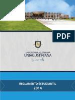 Reglamento Estudiantil UNIAGUSTINIANA 2014