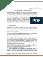 Autonomia Territorial Universitaria