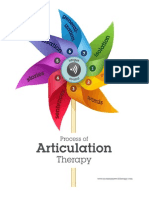 th process of articulation therapy handout