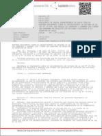 Decreto Nº 35 Reglamento Ley 20.584 Sobre Procedimiento de Reclamos