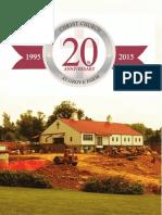 20th Anniversary Newsletter