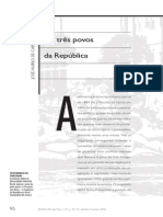 CARVALHO. José Murilo de. Os Três Povos Da República