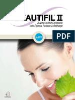 Beautifil II Brochure SHOFU