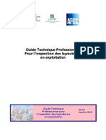 DT 96 Guide Technique Inspection Tuyauteries Exploitation