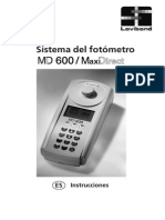 COLORIMETOR MD 600 MANUAL