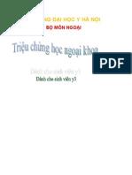 Trieu Chung Hoc Ngoai Khoa Y3 YHN - Ykhoaonline