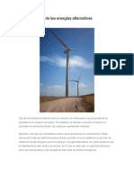 La Importancia de Las Energías Alternativas