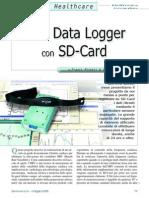 HRV Data Logger Con SD Card
