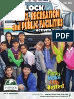 City of Turlock Rec Guide Fall 2015