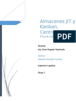 JIT, Kanban y Centros de Distribucion
