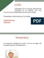 Temperatura y Presion
