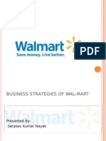 Business Strategies of Wal- Mart