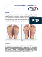 Case History and Successful Therapy of Toe Walking