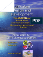 Part III Overview of Curriculum Design and Development