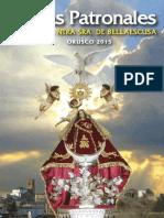 Programa de Fiestas Orusco 2015