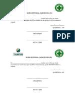 Recibo de Entrega de Ata Reunião PDF