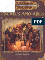 D&D - 3.5ed - Enemies and Allies