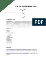 Practica de Nitrobenceno