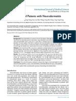 An JG QOL of Patient With Neurodermatitis