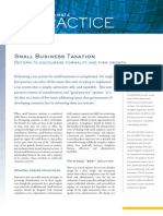 IFC-Small Business Taxation-Reform to Encourage Formality and Firm Growth