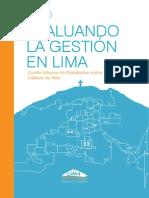 Informe Evaluando Lima 2013
