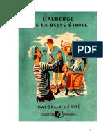 IB Vérité Marcelle L'Auberge de La Belle Étoile 1950