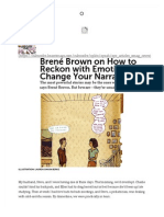 Brené Brown on How to Reckon with Emotion and Change Your Narrative