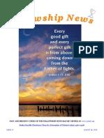 August 18, 2015 The Fellowship News