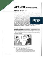 (Mono Pt1) Basic Japanese With Comics
