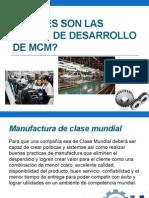 manufactura clase mundial
